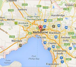Paramour Melbourne Office Location Map