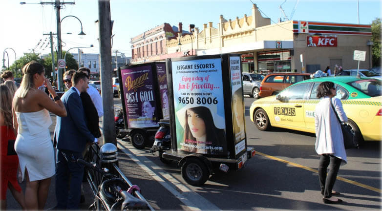 Paramour Mobile Billboards